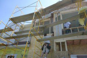 exterior stucco water damage repair