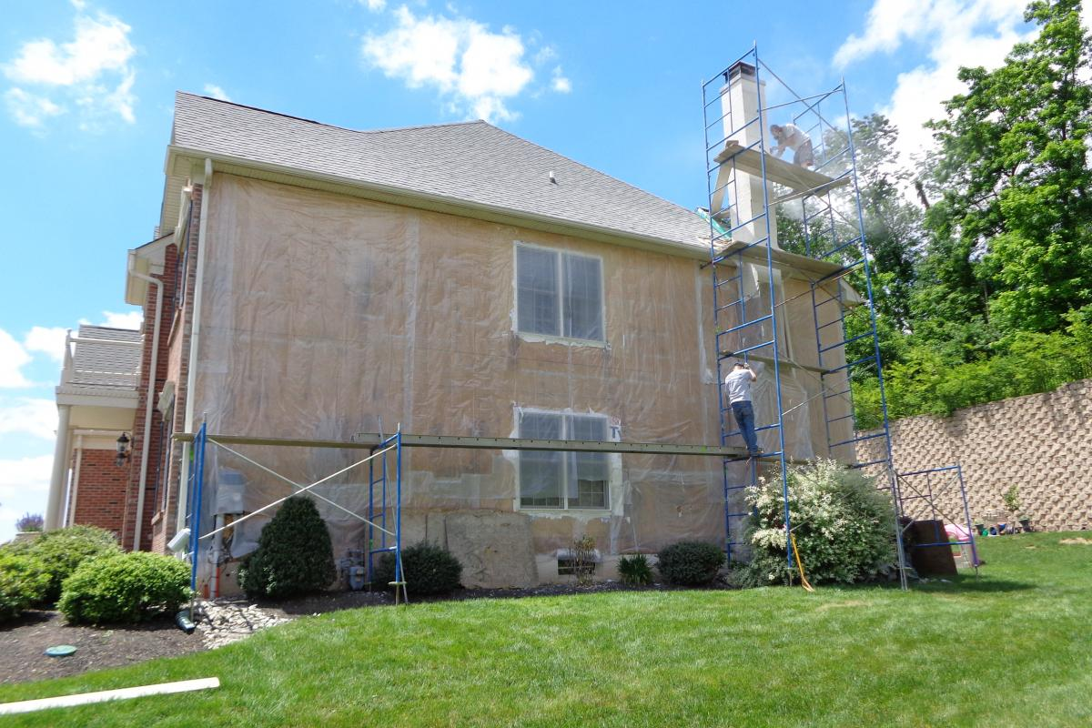 Replace Stucco With Carolina Beaded Siding Ai Restoration