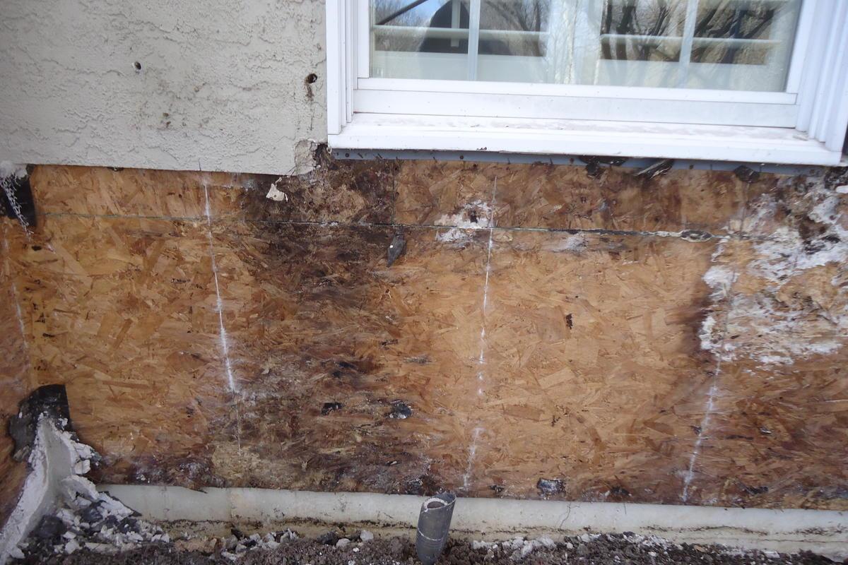 stucco delamination