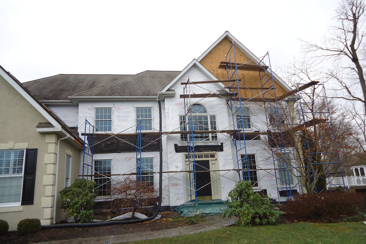 Partial Stucco Remediation Ai Restoration