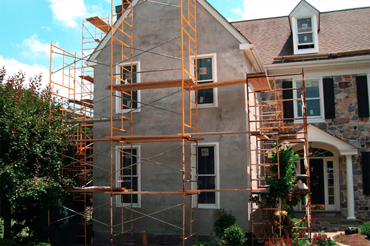DIY stucco repairs