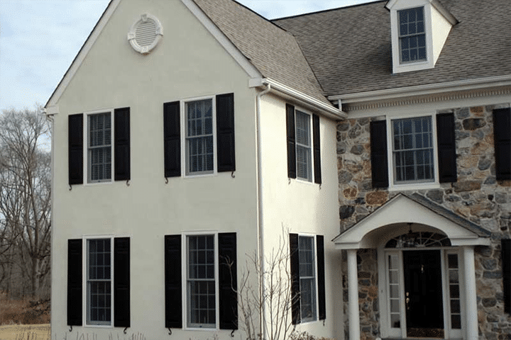 how to clean stucco exterior
