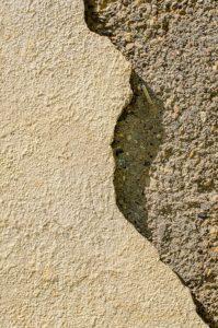 Fixing stucco cracks