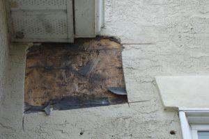 stucco cracks around windows