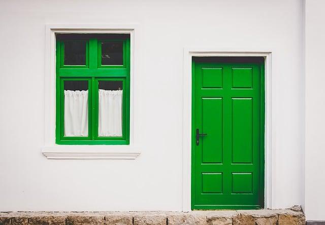 replacing doors in stucco
