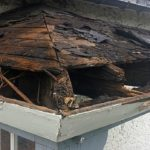 how to repair water damaged siding